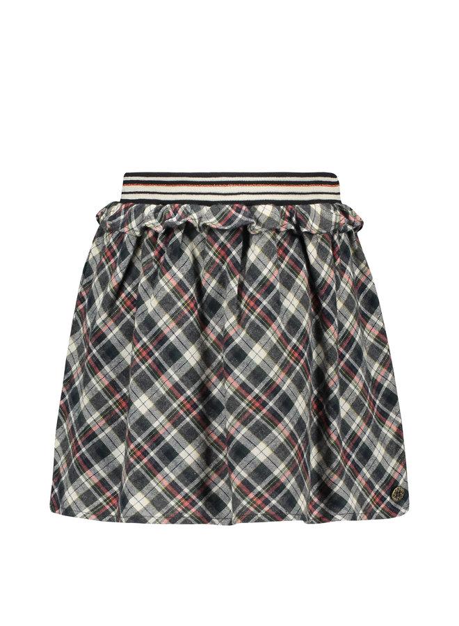 Flo girls check ruffle skirt - Check