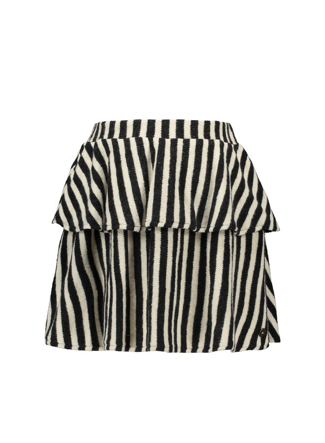 Flo girls yd fleece skirt - Stripe