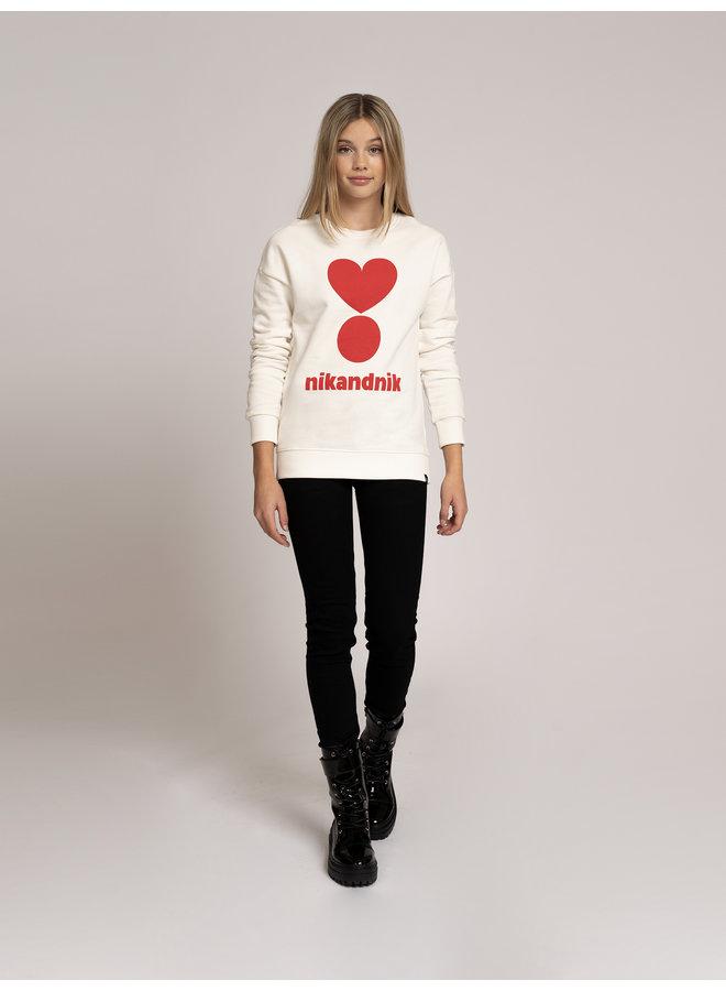 Valerie Sweater - Vintage White