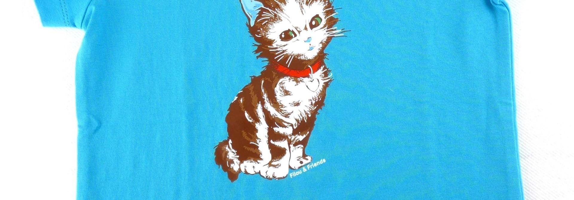 Nieuwe t-shirt Filou & Friends