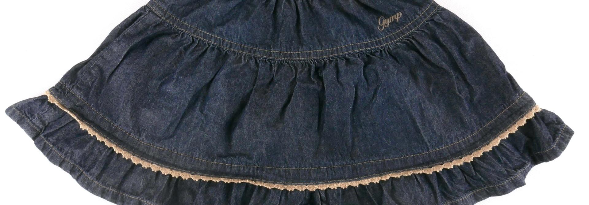 Jeans rok GYMP