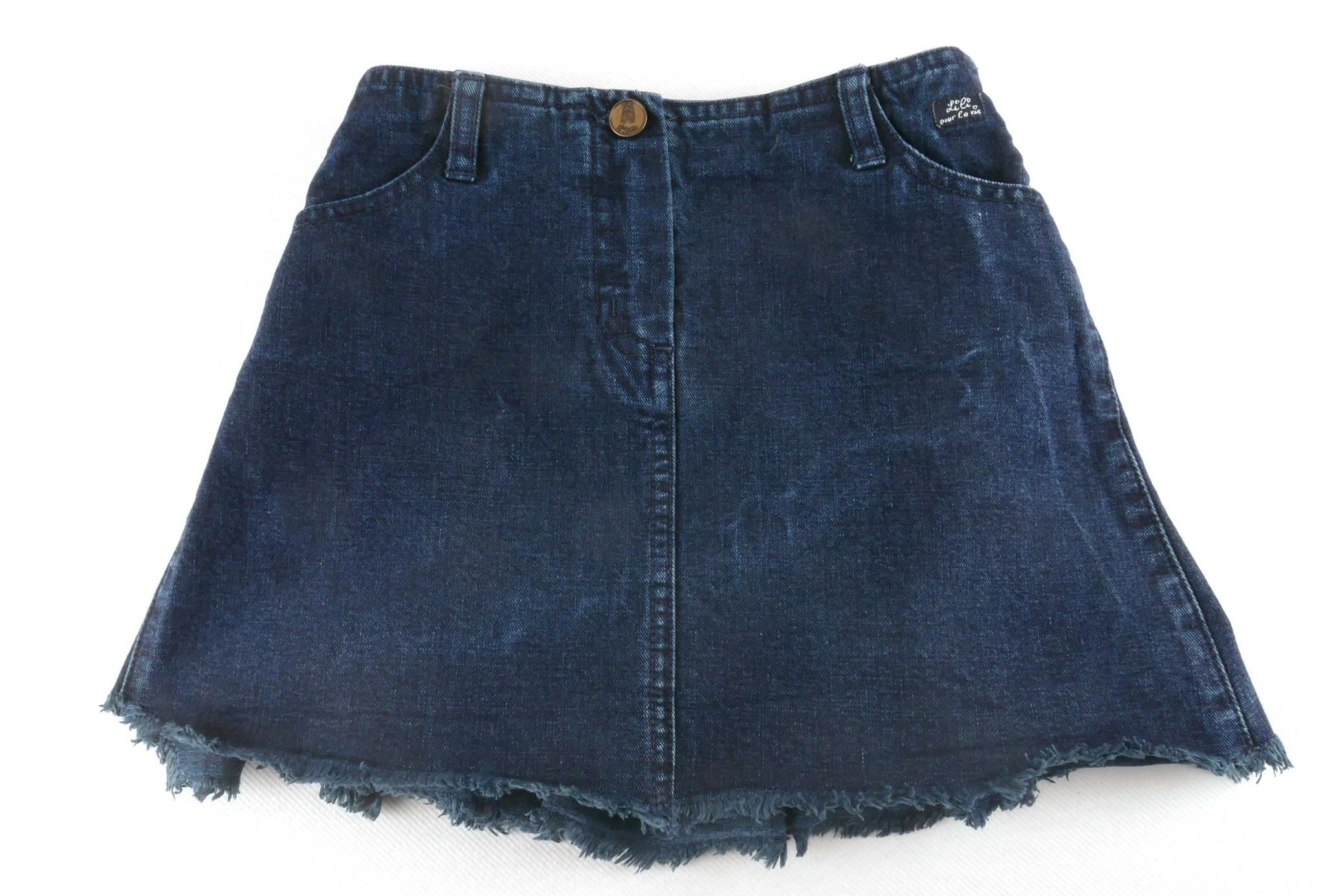 Jeans rok Lili Gaufrette-1