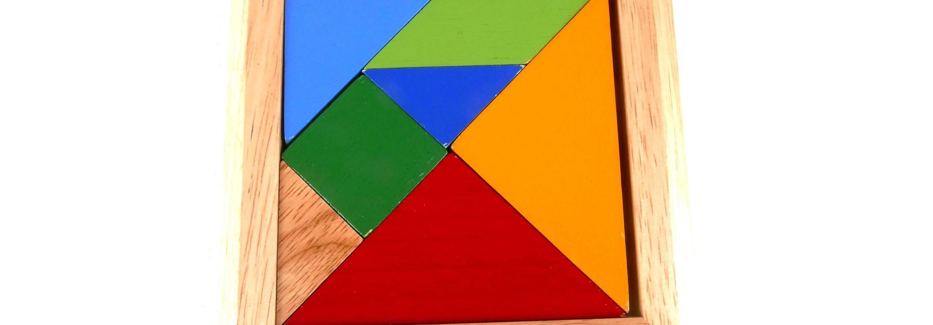 Houten tangram