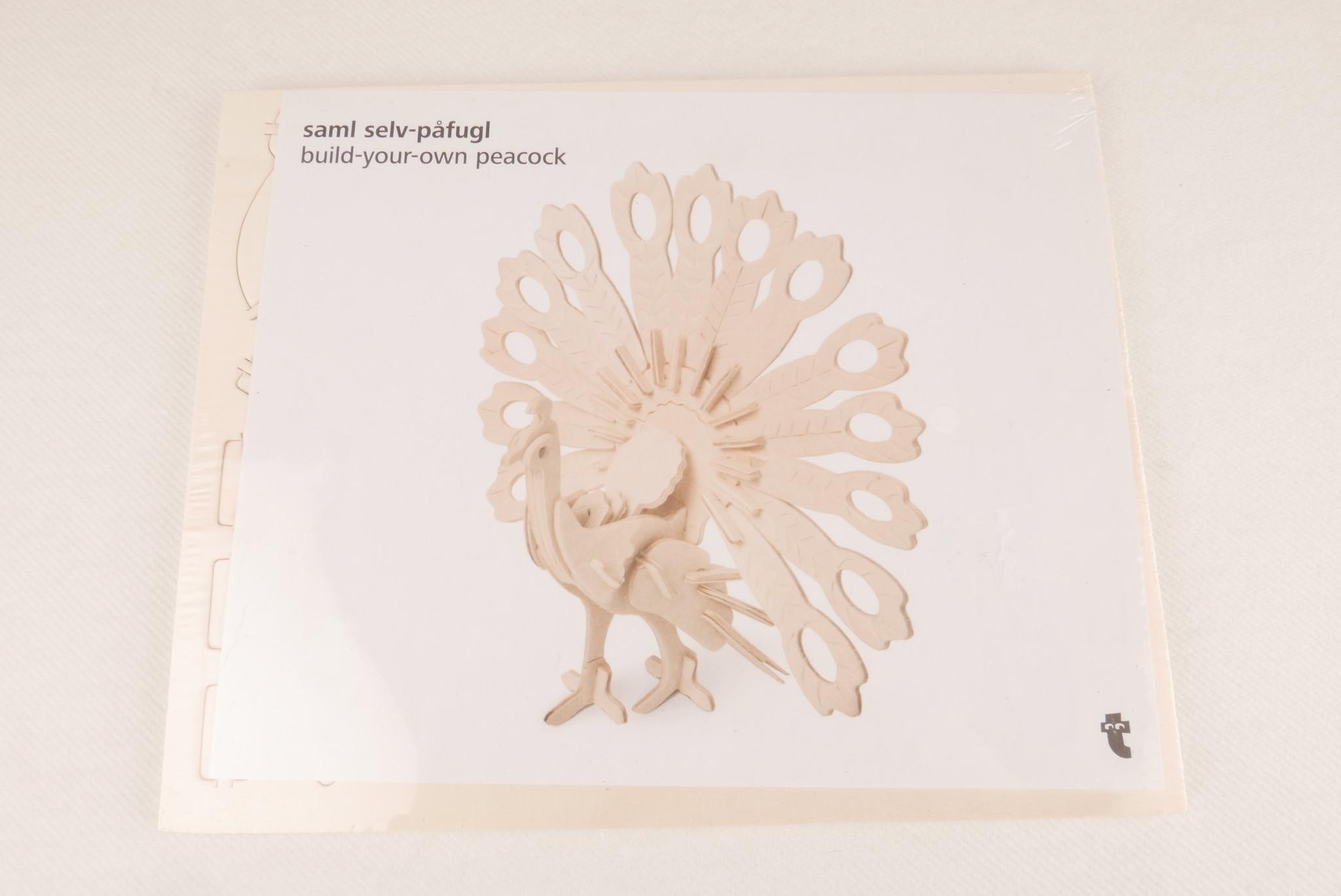 3D bouwpakket pauw-1