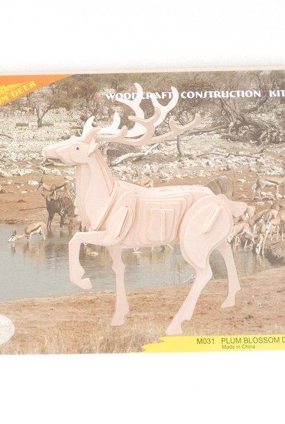 3D bouwpakket hert