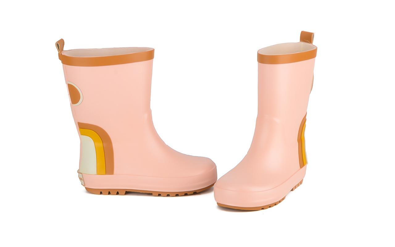 Regenlaarzen pink Grech&Co-1