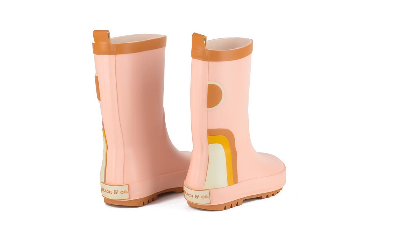 Regenlaarzen pink Grech&Co-2