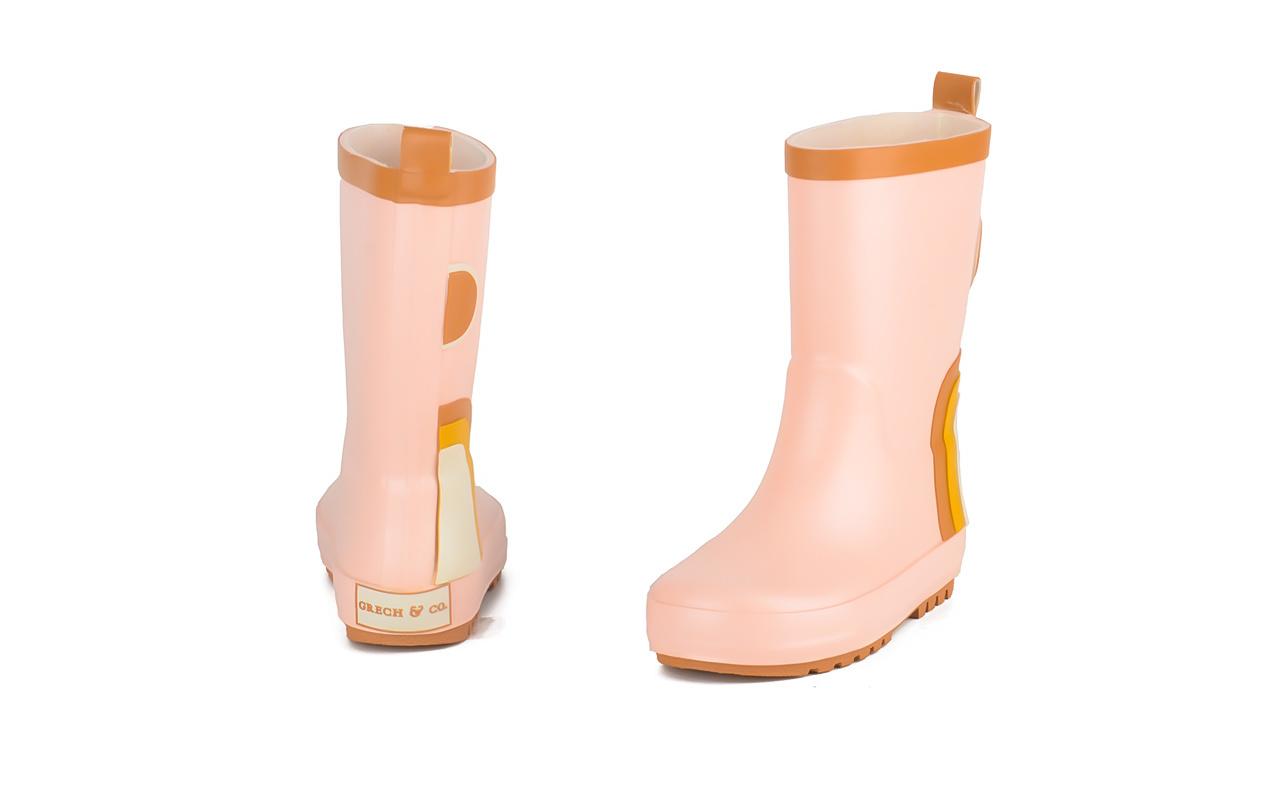 Regenlaarzen pink Grech&Co-3