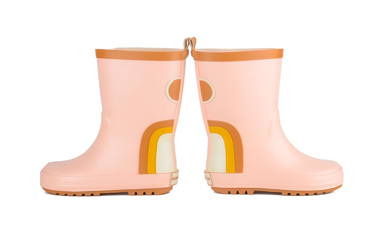 Regenlaarzen pink Grech&Co-4