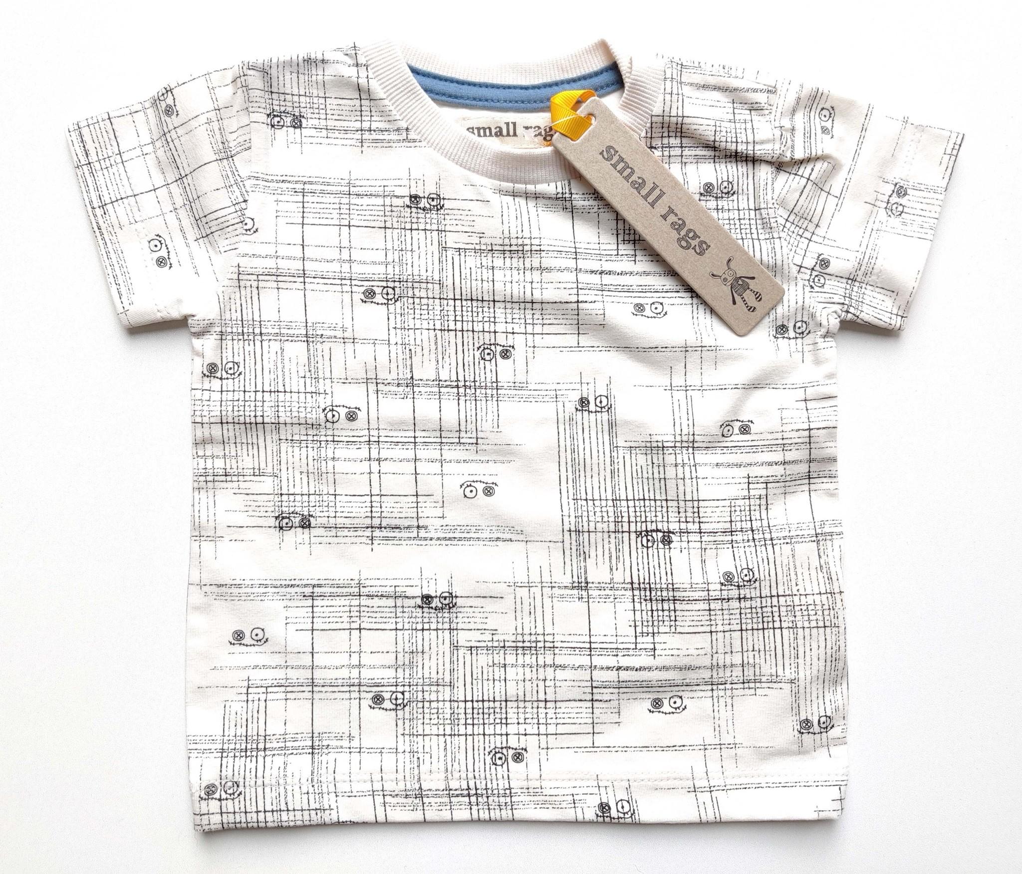Nieuwe t-shirt Small Rags-1