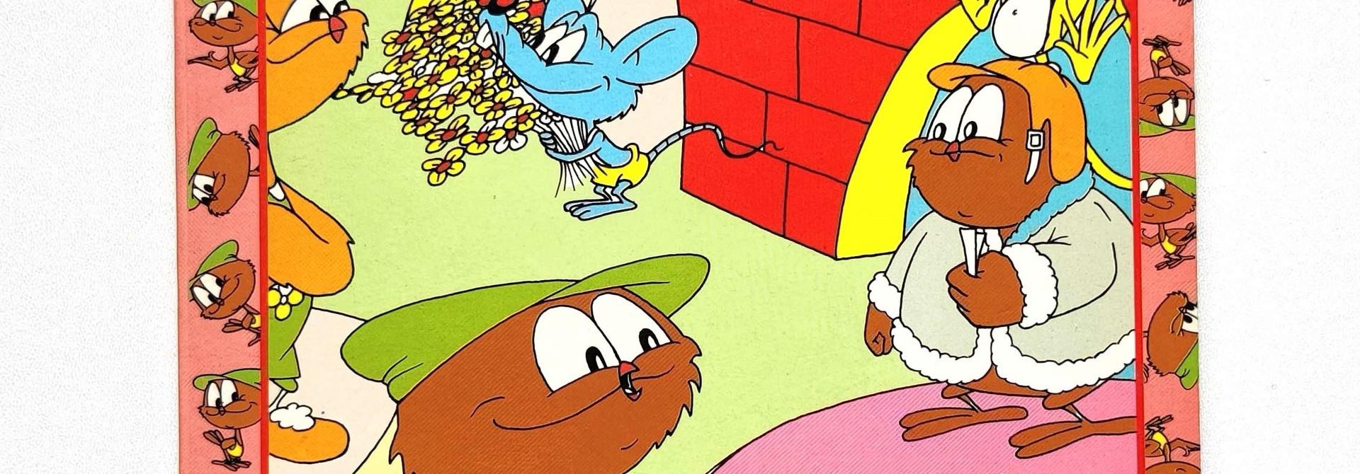 Tjilp de mus in de dierentuin