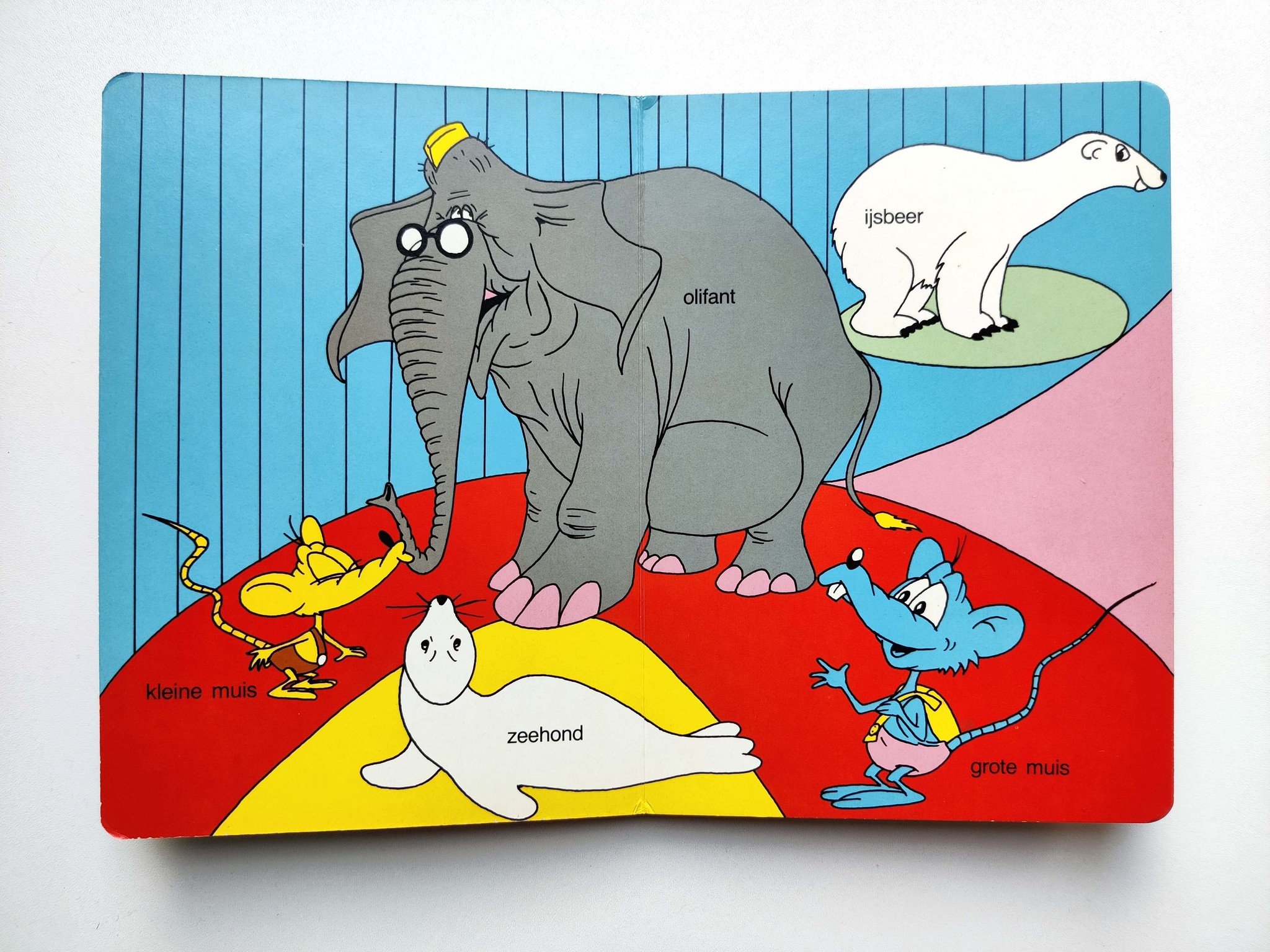 Tjilp de mus in de dierentuin-3