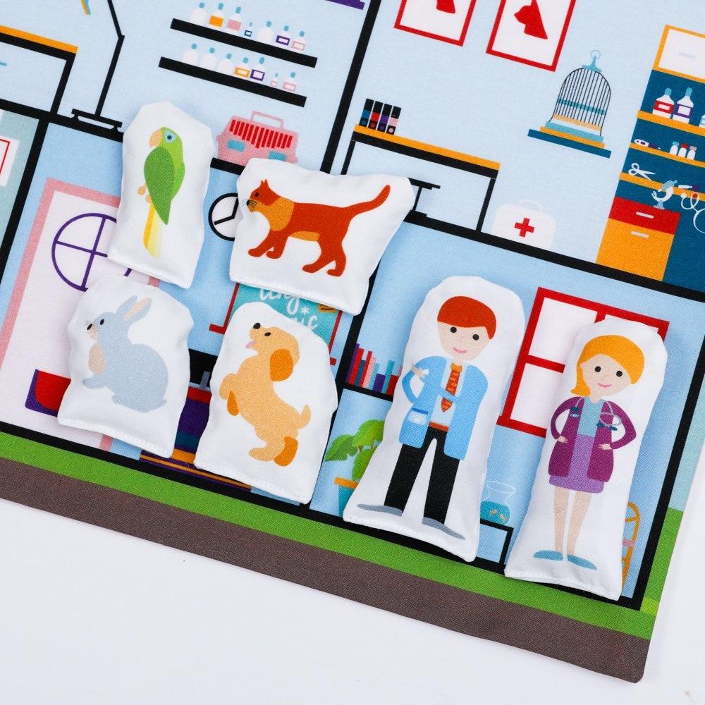 Speelmat dierenziekenhuis Tiny Magic-6