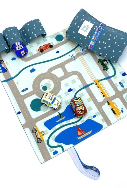 Speelmat autobaan