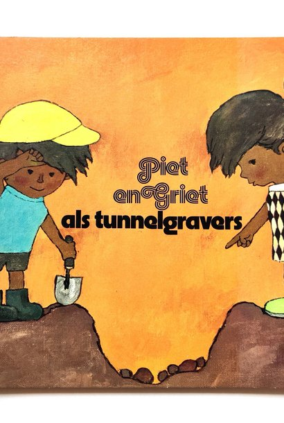Piet en Griet als tunnelgravers