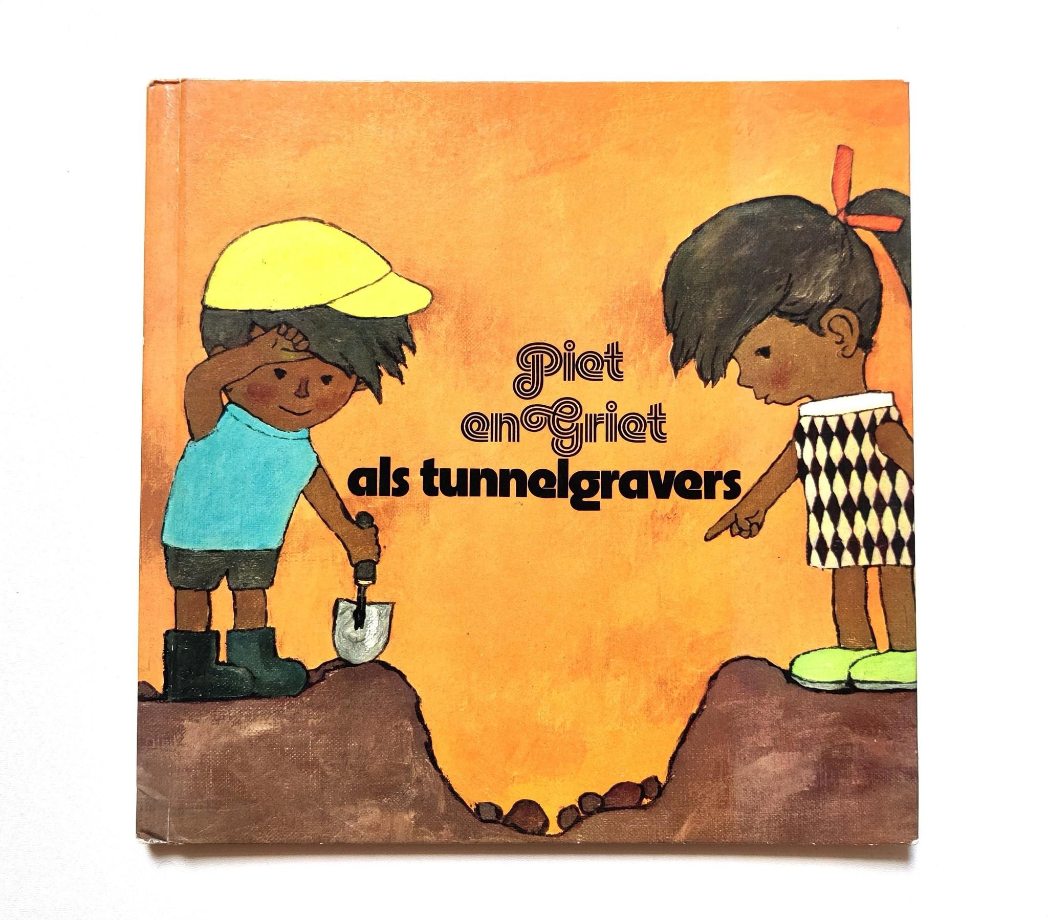 Piet en Griet als tunnelgravers-1