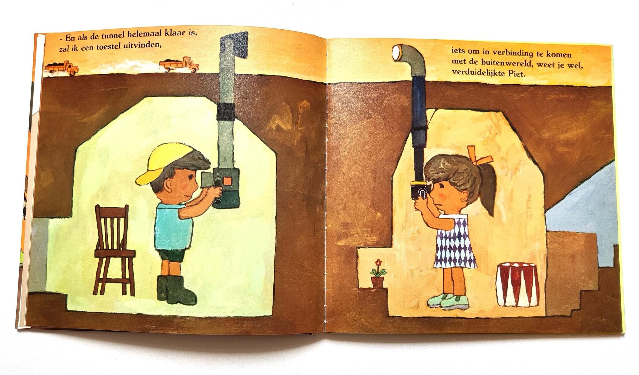 Piet en Griet als tunnelgravers-2