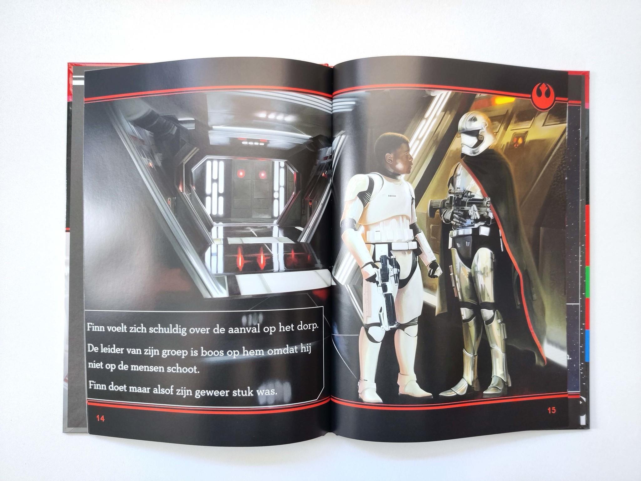 Leren lezen met Star Wars: de strijd van Finn-3