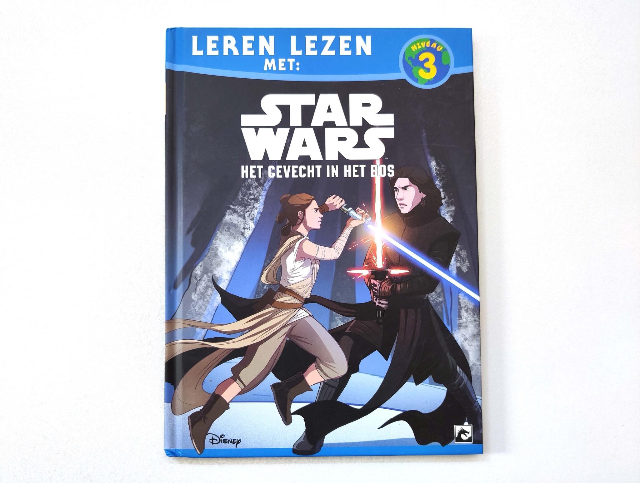 Leren lezen met Star Wars: het gevecht in het bos-1