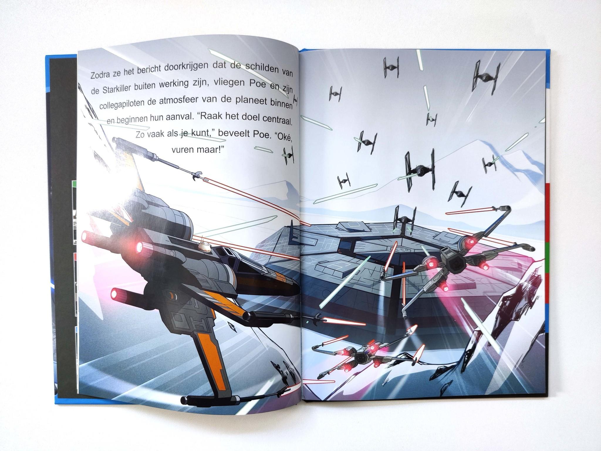 Leren lezen met Star Wars: het gevecht in het bos-3