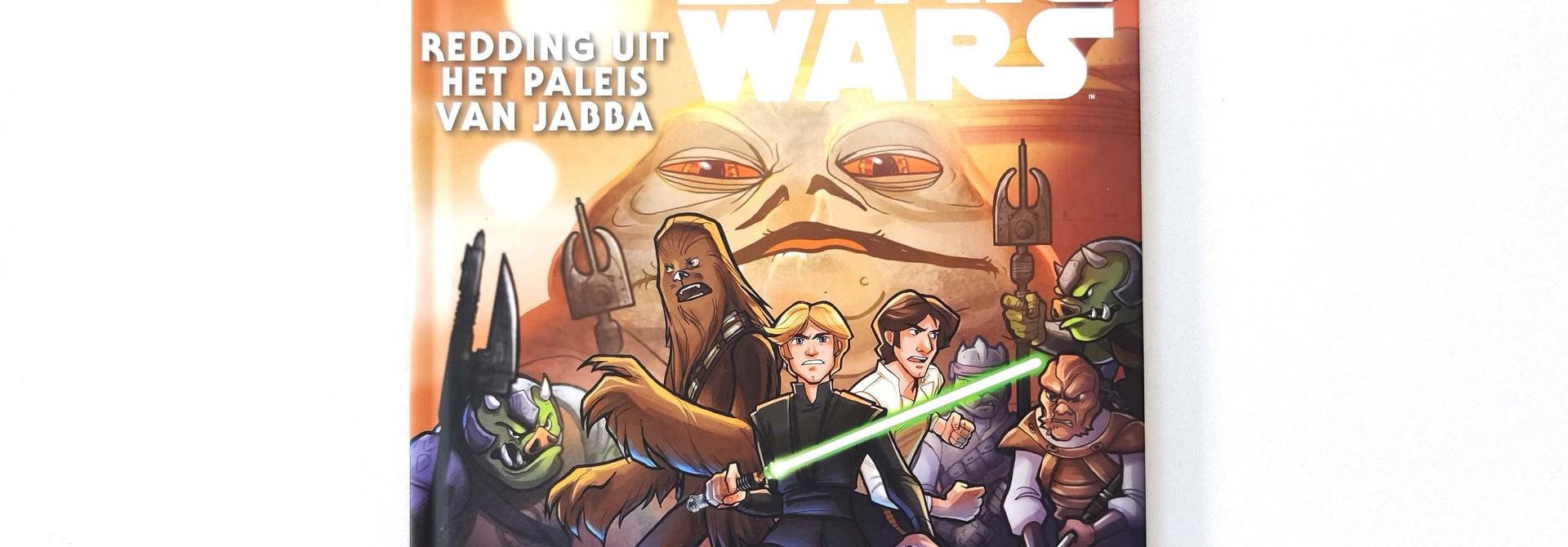 Leren lezen met Star Wars: redding uit het paleis van Jabba