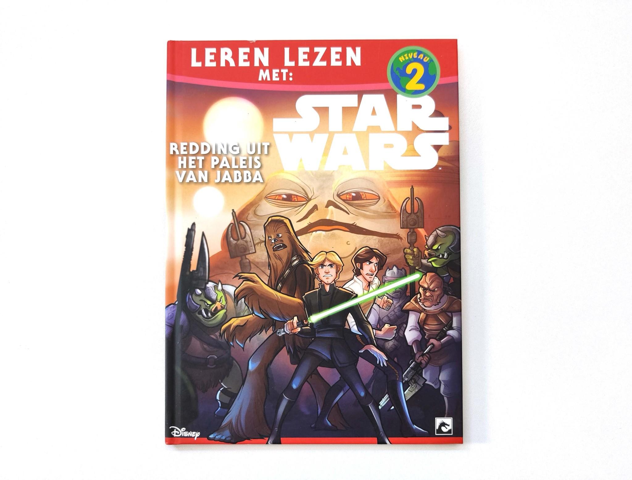 Leren lezen met Star Wars: redding uit het paleis van Jabba-1