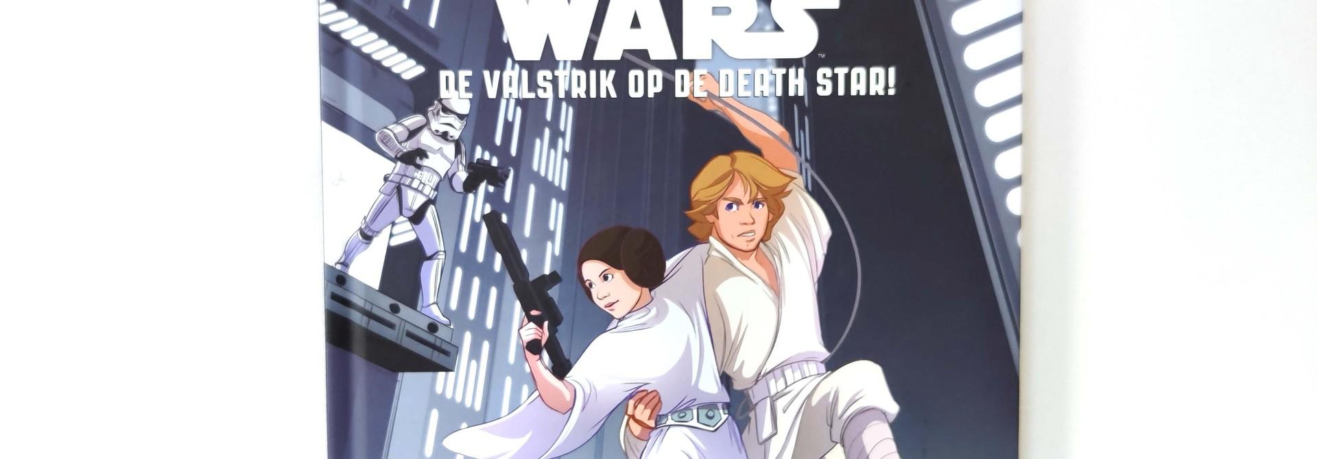 Leren lezen met Star Wars: de valstrik op de death star!