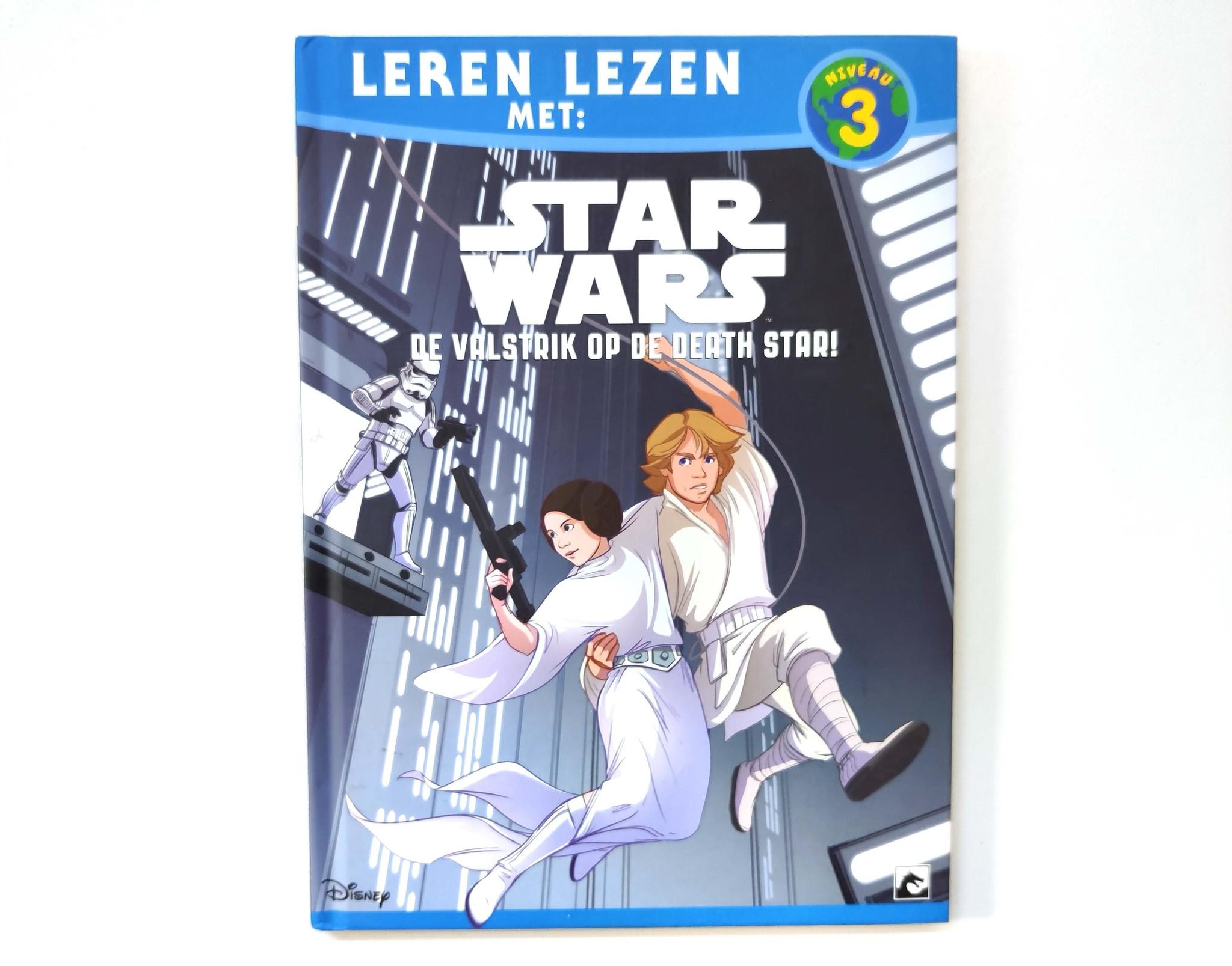 Leren lezen met Star Wars: de valstrik op de death star!-1