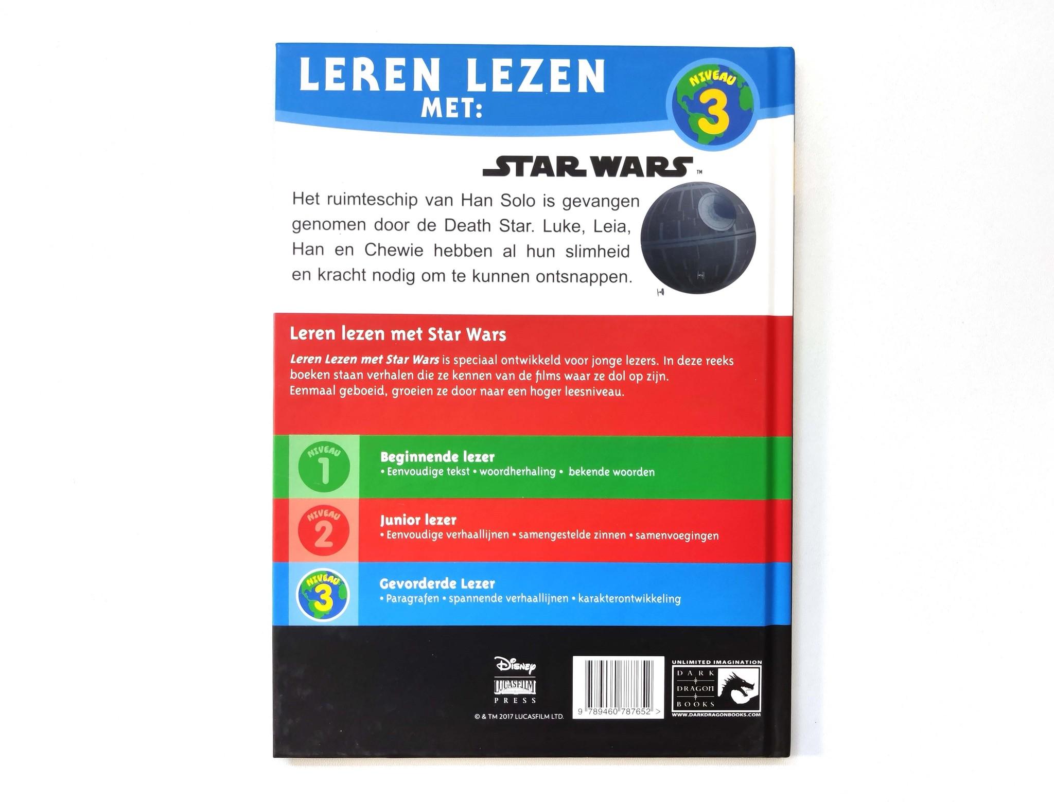 Leren lezen met Star Wars: de valstrik op de death star!-2