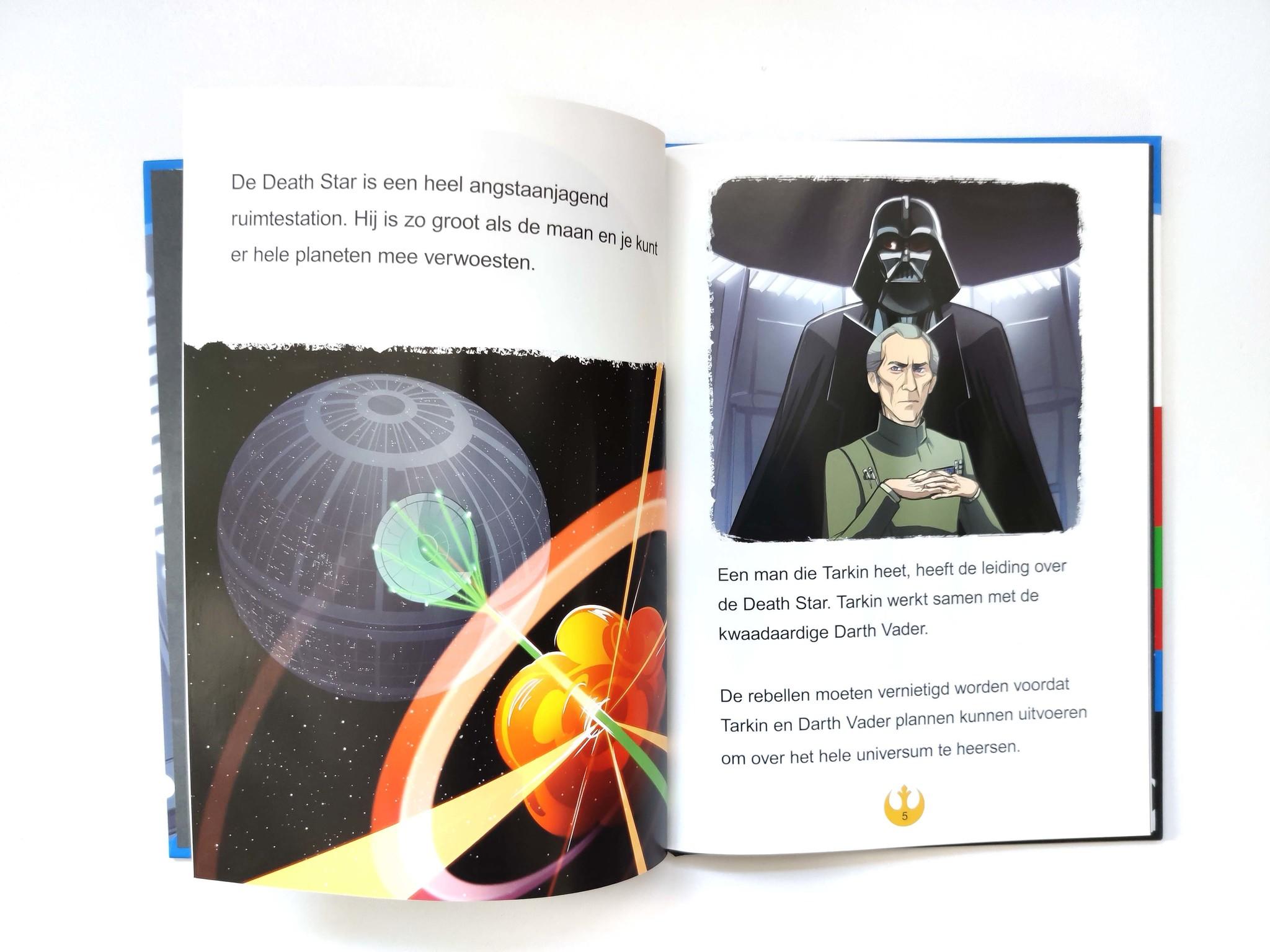 Leren lezen met Star Wars: de valstrik op de death star!-3