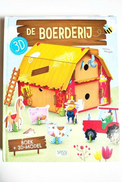 Boek + 3D model Boerderij