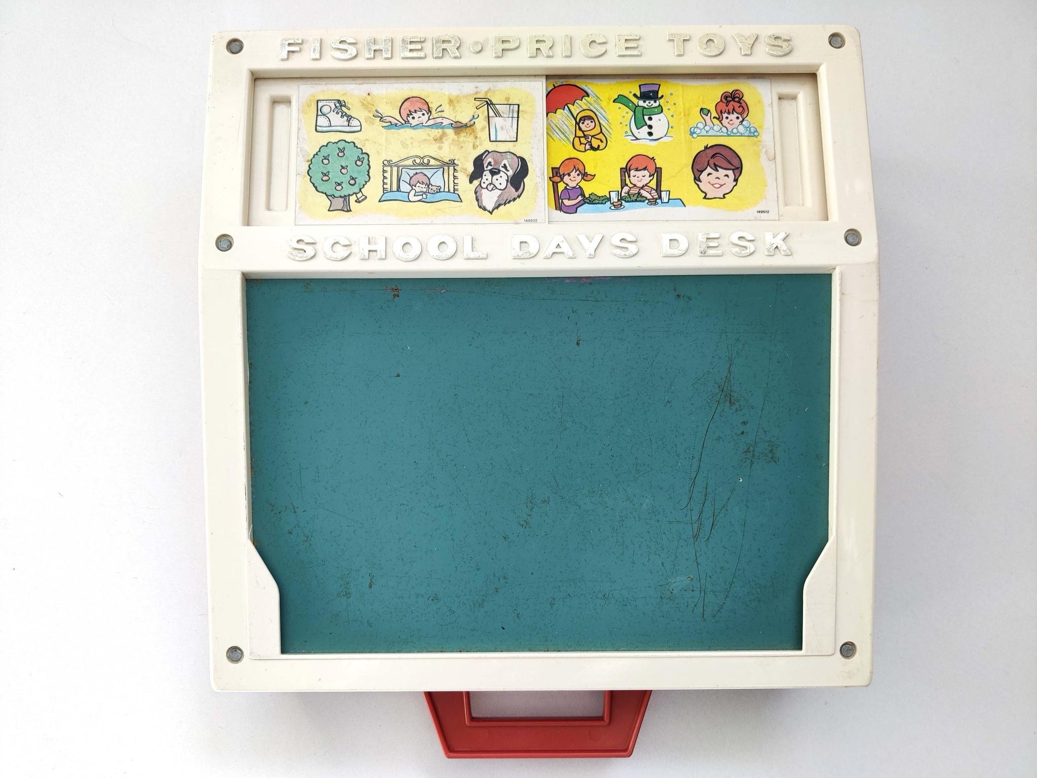 Schoolbord Fisher Price-2