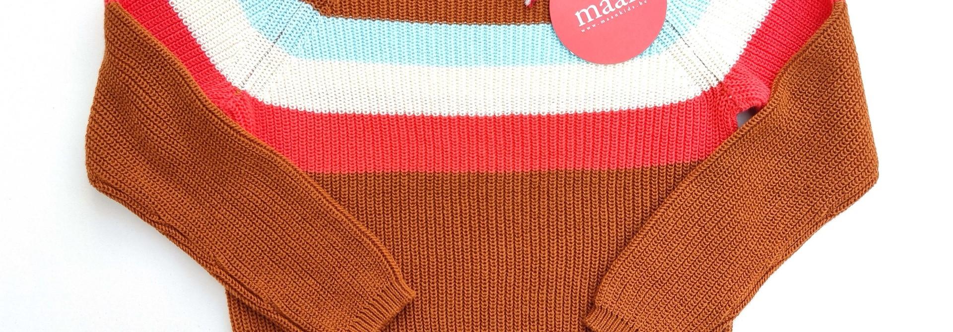 Nieuwe sweater Maan