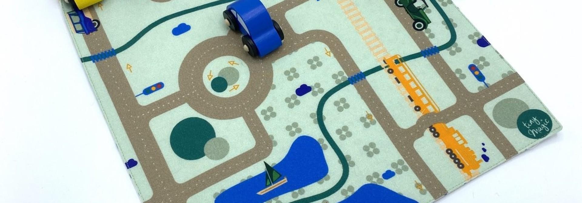 Speelmat autobaan Tiny Magic