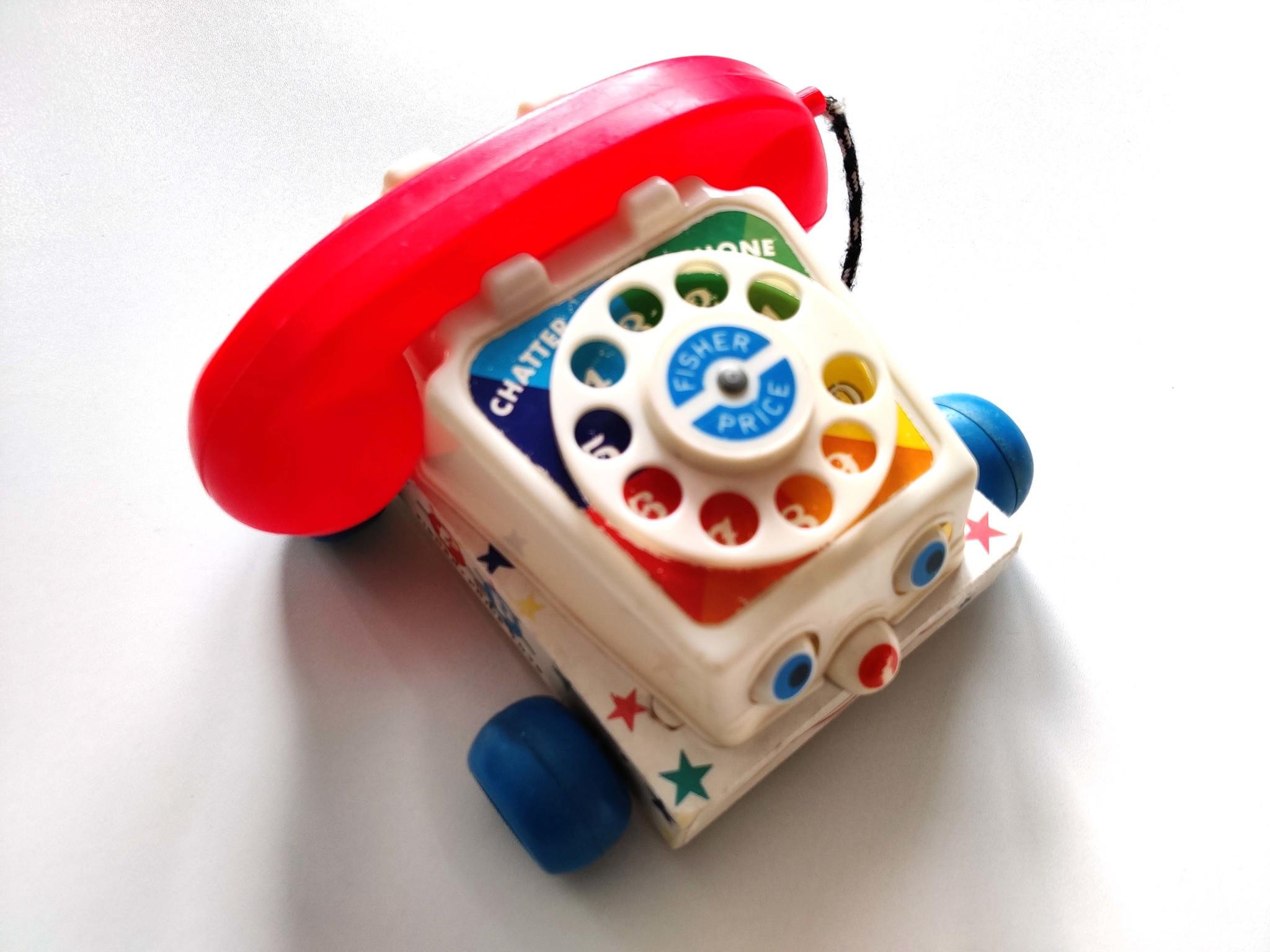Vintage telefoon Fisher Price-2