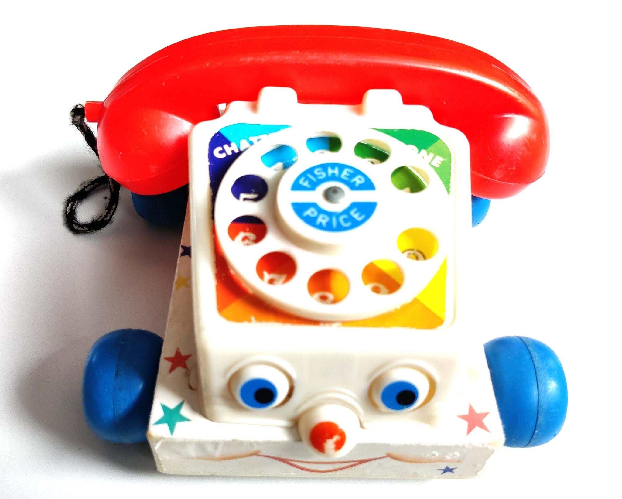 Vintage telefoon Fisher Price-1