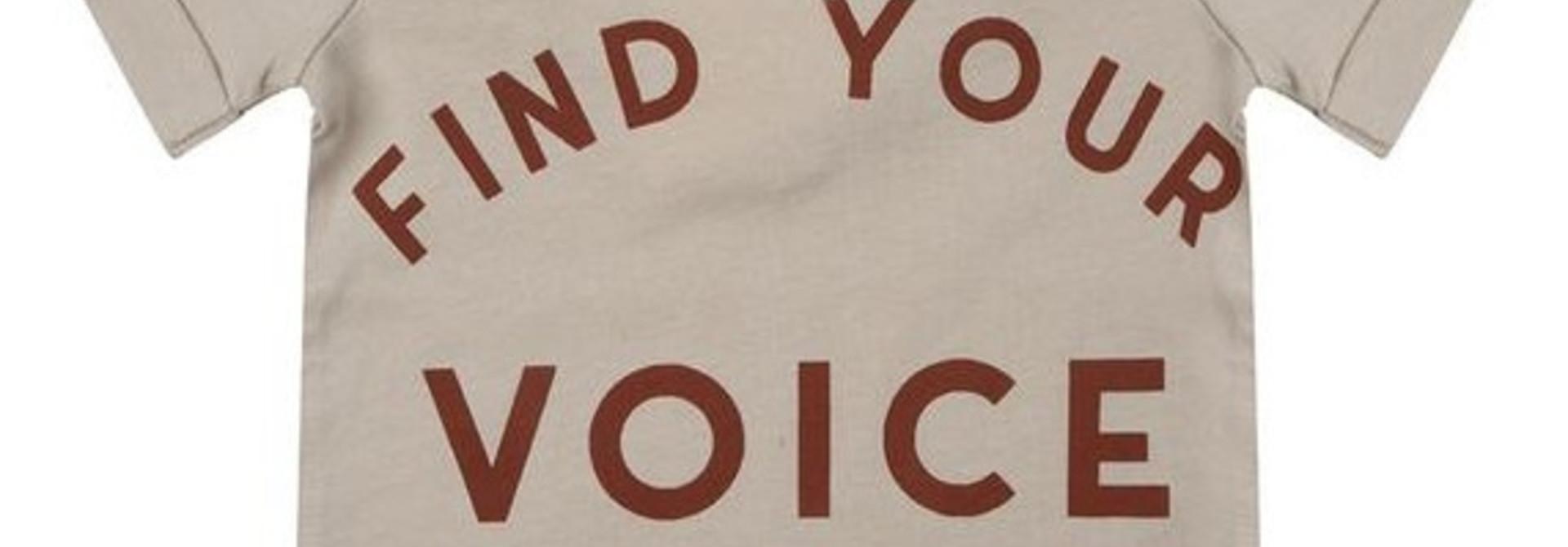 Little Indians t-shirt find your voice