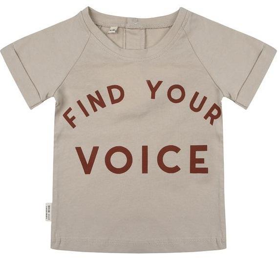 Little Indians t-shirt find your voice-1