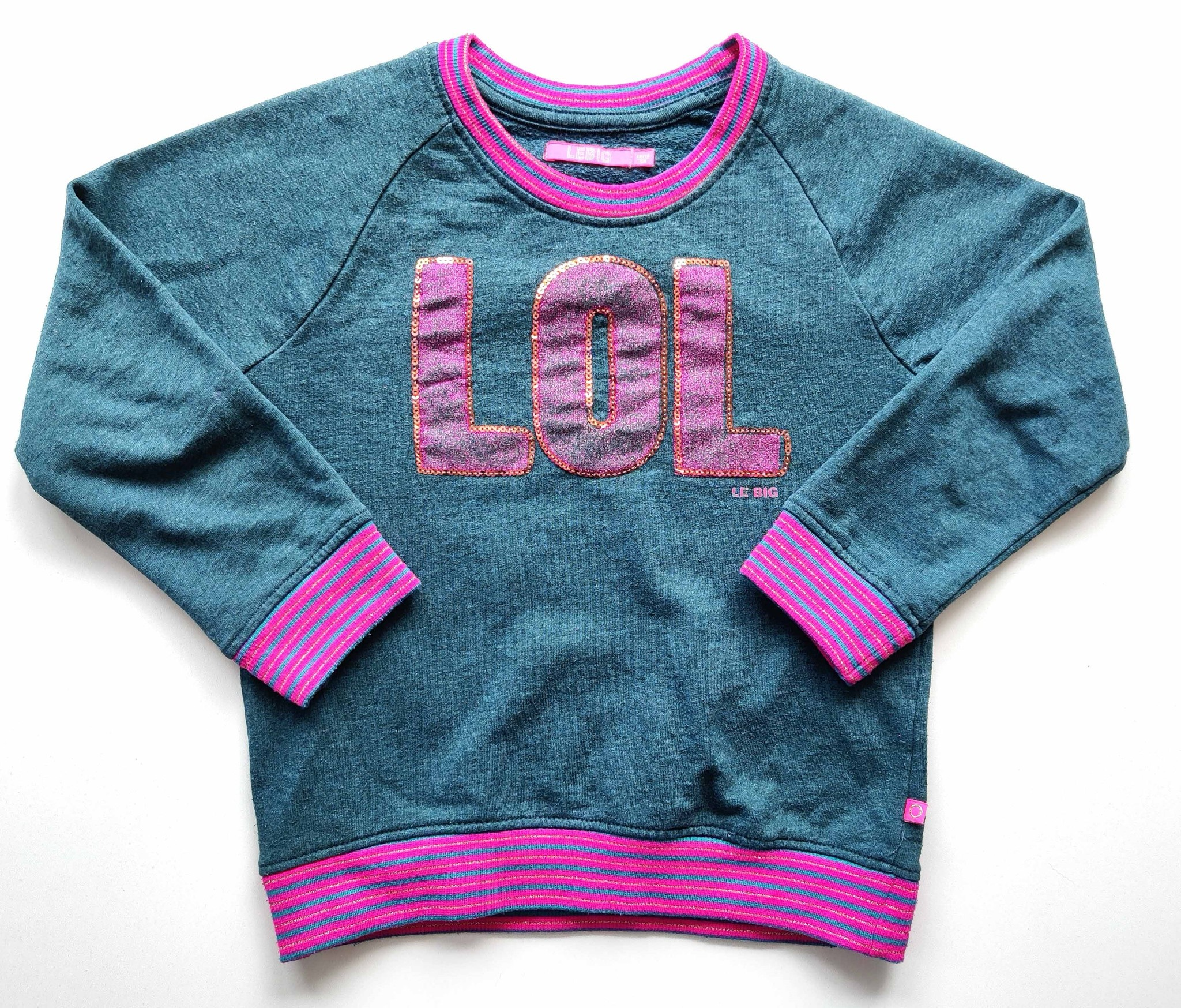 Sweater Le Big, maat 110-116-1