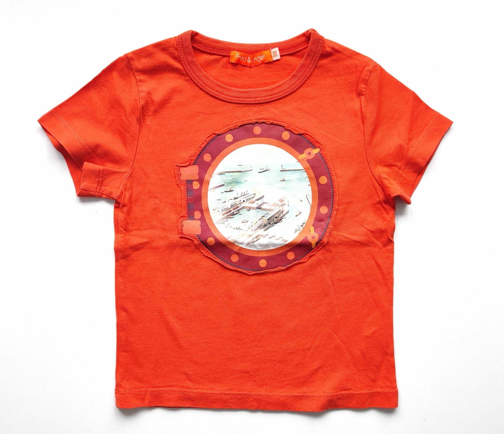 T-shirt Fred + Ginger, maat 98-1