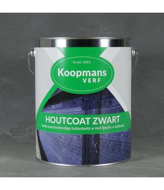 Koopmans Houtcoat Zwart