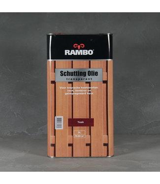 Rambo Schutting Olie Transparant