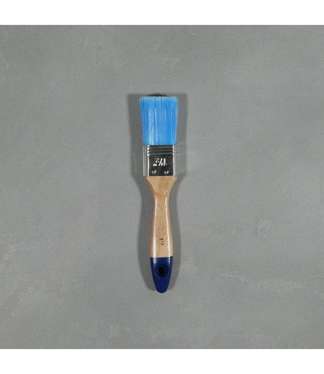 Platte Kwast Blauw