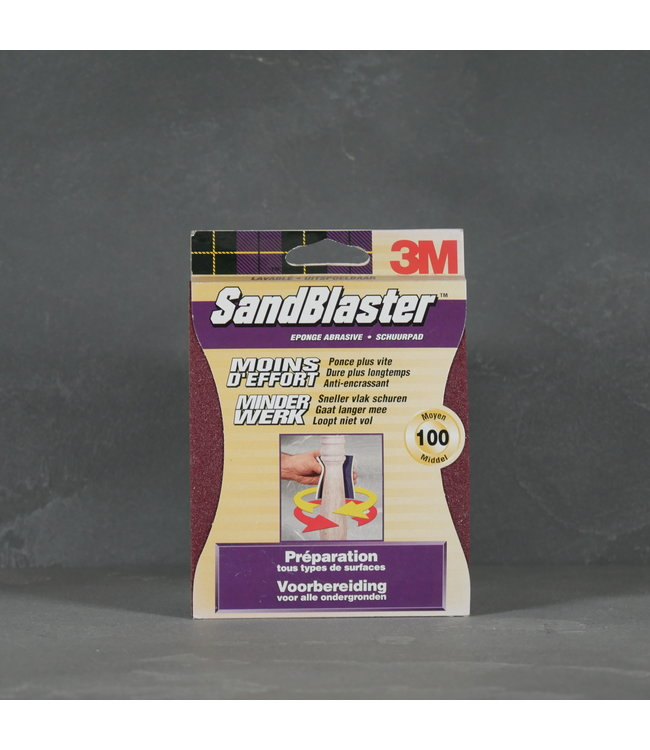 3M 3M SandBlaster Schuurpad Korrel 100