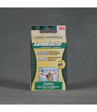 3M SandBlaster Schuurblok Korrel 60