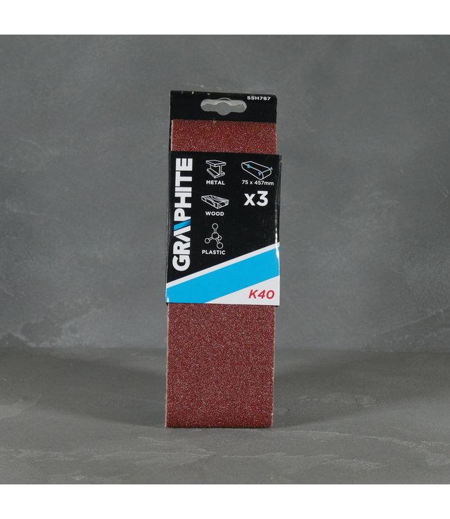 Graphite Graphite Schuurpapier 55H787 K40