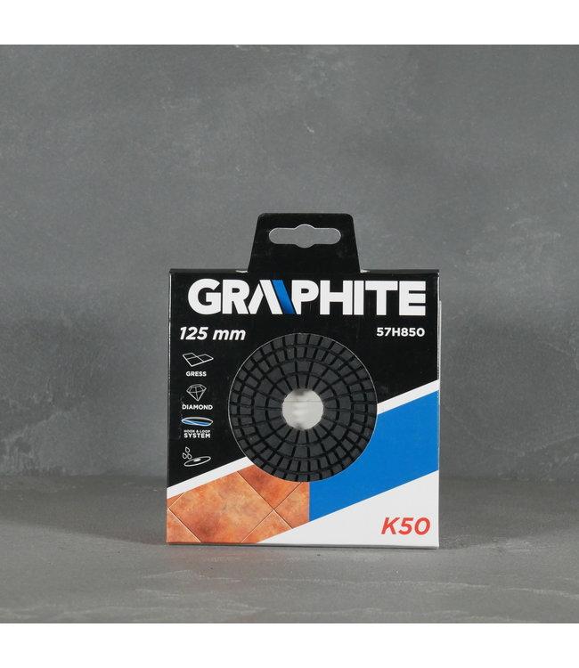 Graphite Graphite Schuurschijf 57H850 125mm K50
