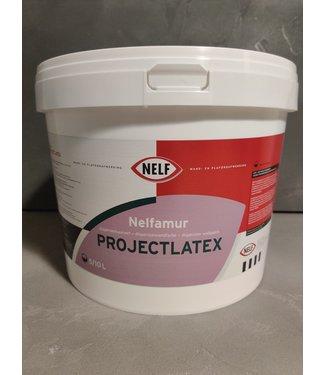 Nelf Projectlatex 10 Liter Muurverf Wit - 9001 - 9010 - 9016