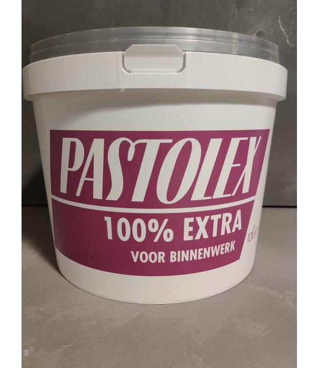 Pastolex 100% Extra 10 Liter Muurverf Wit - 9001 - 9010 - 9016