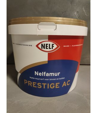 Nelf Prestige AC 10 Liter Muurverf Wit - 9001 - 9010 - 9016